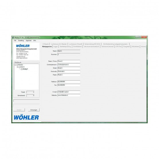 Wöhler PC-software
