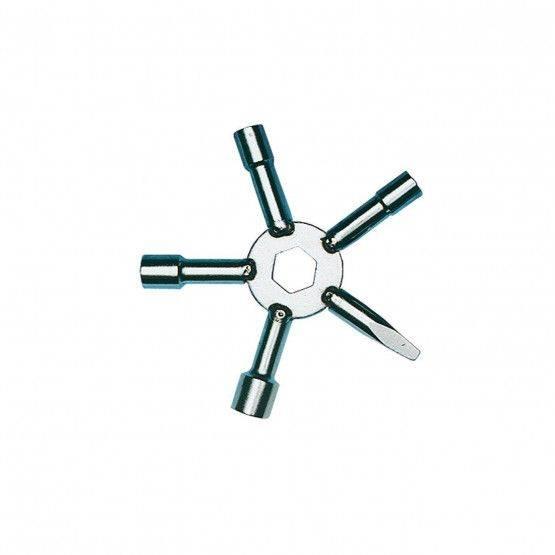 Stersleutel dop vierkant 6, 7, 8, 10 mm