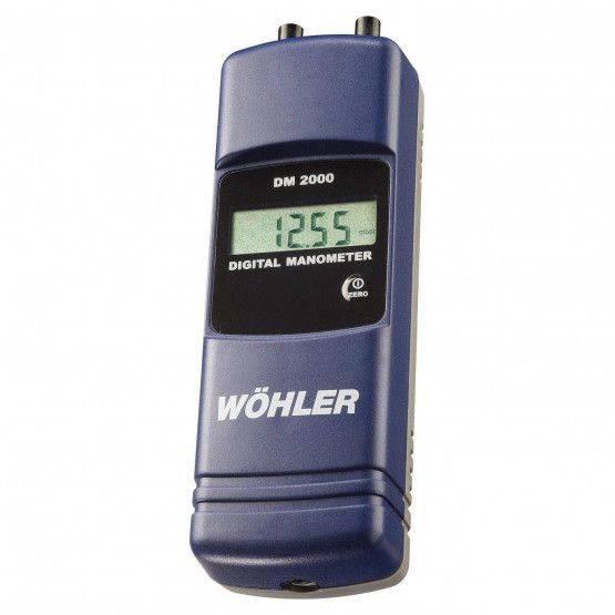Wöhler DM 2000 drukmeter meetset