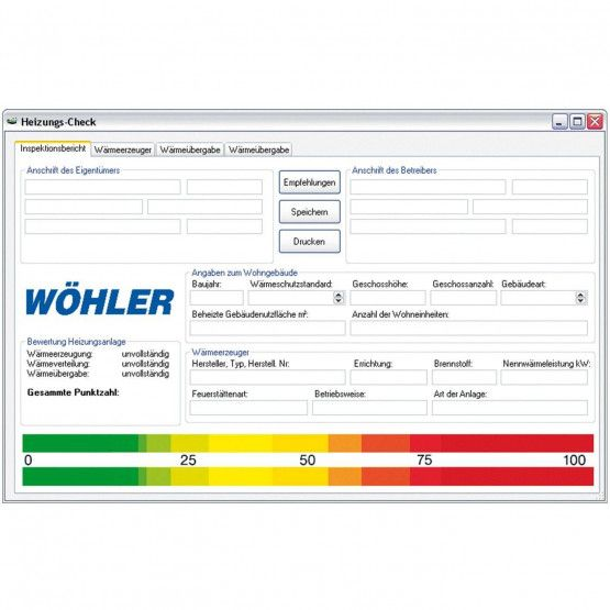Wöhler A 400 PC-Software