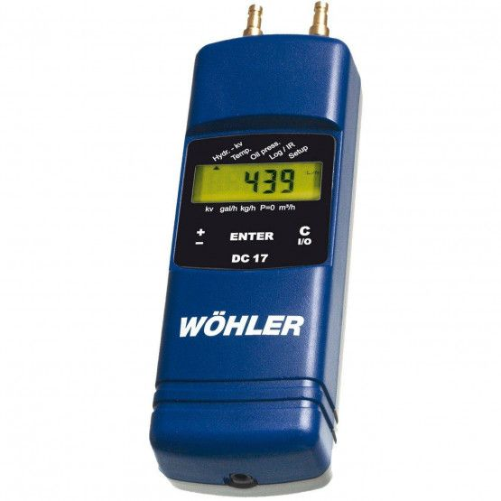 Wöhler DC 17 NL druk-temperatuurmeter