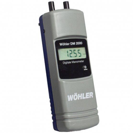 Wöhler DM 2000 NL druk-temperatuurmeter