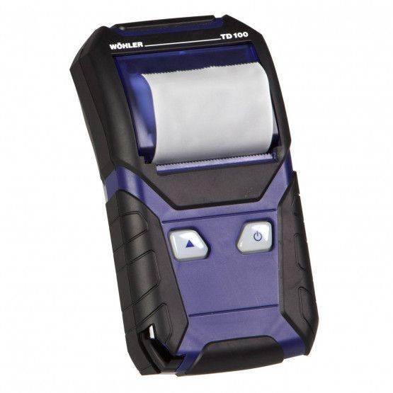 Wöhler TD 100 snelle thermische printer