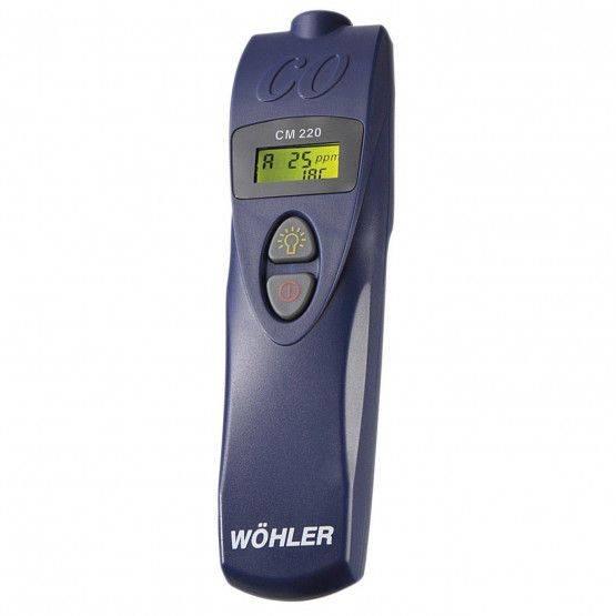 Wöhler CM 220 CO-gasdetector