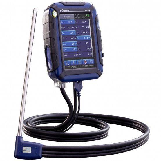 Wöhler A 450 L NL rookgasmeter