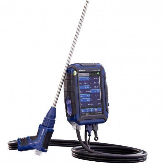 Wöhler A 450 NL  rookgasmeter
