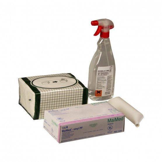 Wöhler VIS reinigings- en smeermiddelset
