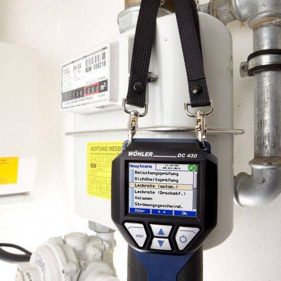 Wöhler DC 430 NL lekvolumemeter