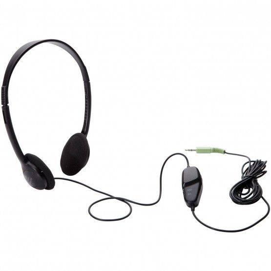 Koptelefoon met geluidsniveauregelaar