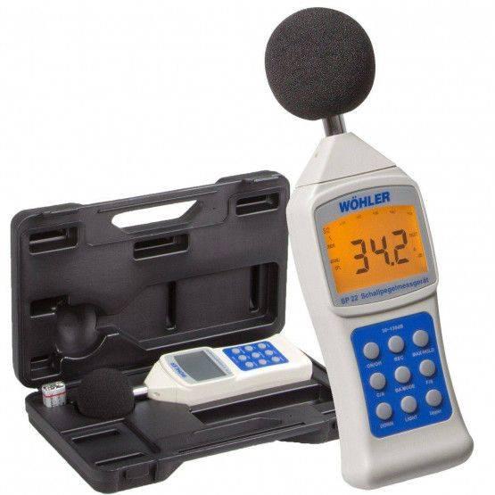 Wöhler SP 22 geluidsniveaumeter 130 dB