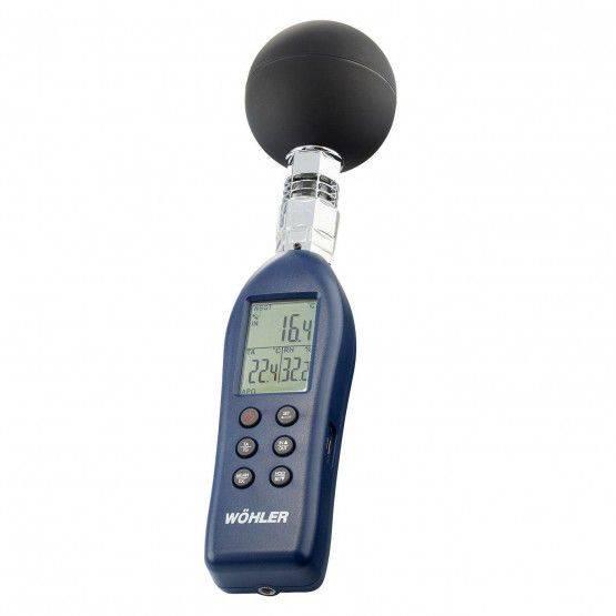 Wöhler GT 300 globetemperatuurmeter