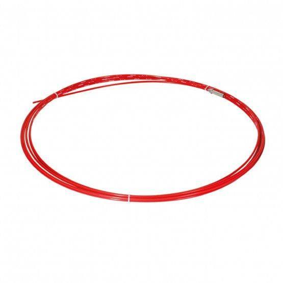 Glasvezelstang 15 m, rood, ø 7 mm