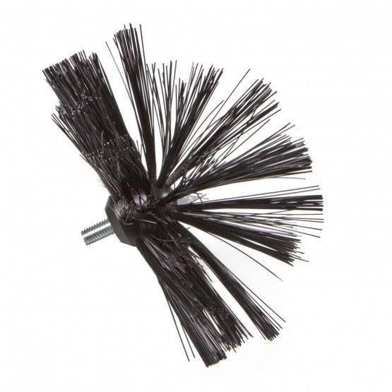 Veegborstelkop ø 10 cm, Perlon