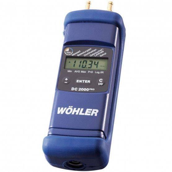 Wöhler DC 2000PRO druk-hygrometer