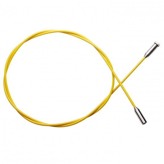 Glasvezelstang 2,5 m, geel, ø 6 mm
