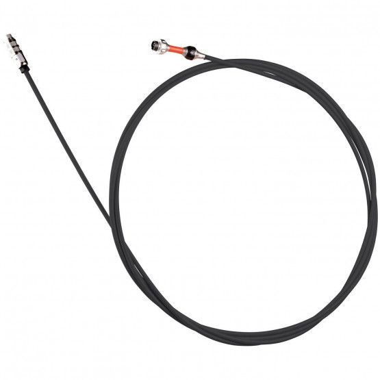 Glasvezel-camerastang 30 m,zwart, ø 6 mm