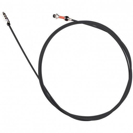 Glasvezel-camerastang 5 m, zwart, ø 6 mm