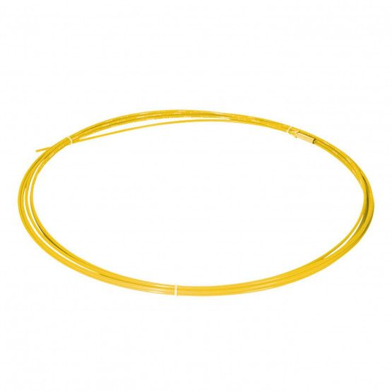 Glasvezelstang 15 m, geel, ø 6 mm