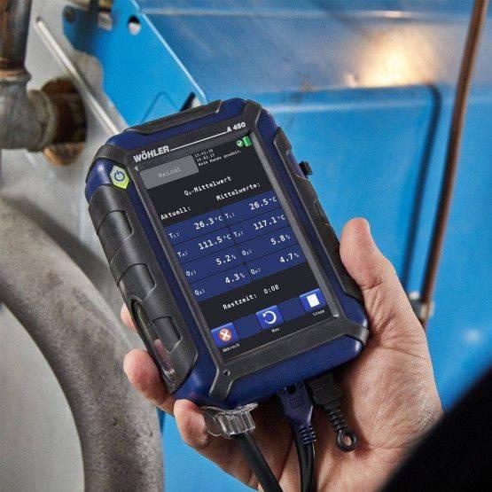 Wöhler A 450-NO NL rookgasmeter