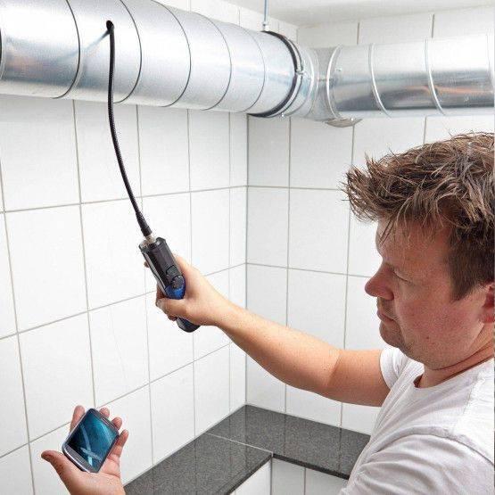 Wöhler VE 200 video-endoscoopset