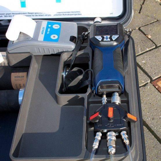 Wöhler DC 420 drukmeter