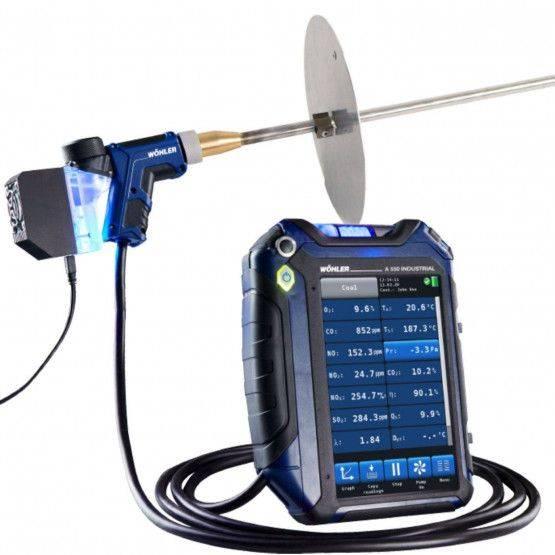Wöhler A 550 Industrial rookgasanalyse meter