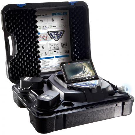 Inspectiecamera rookgasafvoer- / ventilatie- / rioleringssystemen